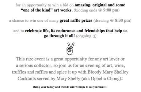 for an opportunity to win a bid on amazing, original and some